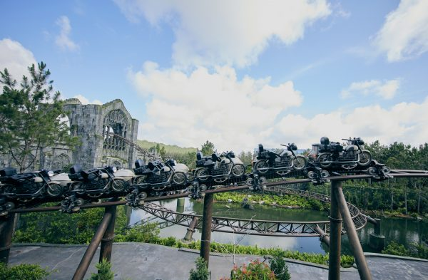 Hagrid's Magic Creatures Motorbike Adventure - Islands of Adventure - Universal Orlando