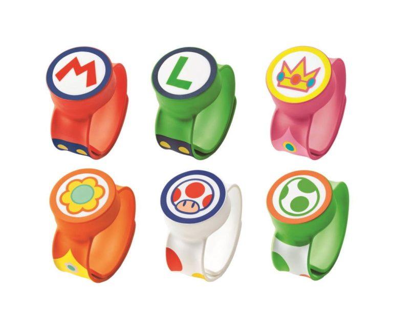 As Power Up Bands vão vir em pelo menos seis modelos, inspirados nos personagens Mario, Luigi, Peach, Daisy, Toadstool e Yoshi