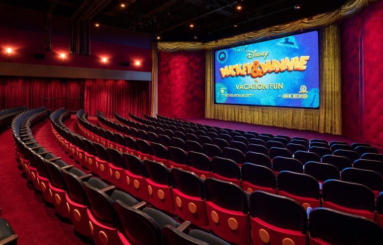 Mickey Shorts Theatre Hollywood Studios
