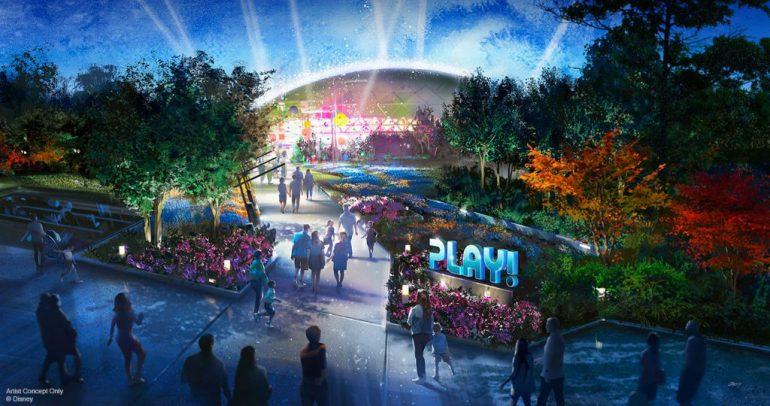 PLAY! Pavilion Epcot (Walt Disney Parks blog)