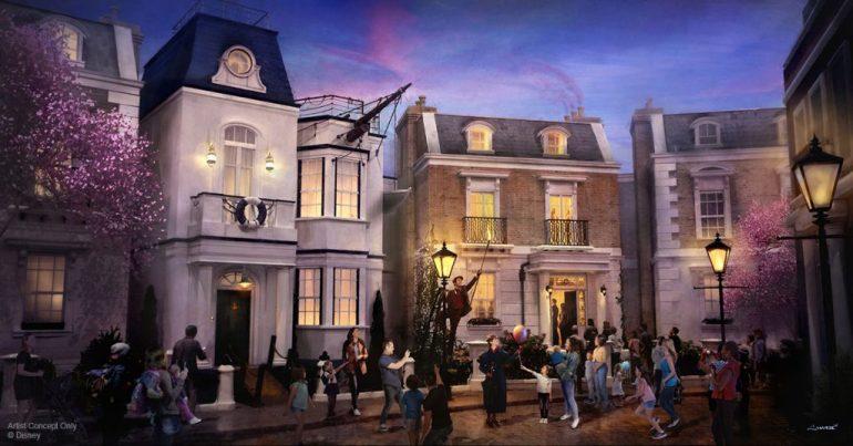 UK Pavilion (Walt Disney Parks blog)