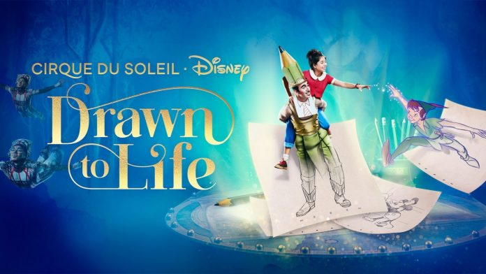 """""""Drawn to Life"""", novo espetáculo do Cirque du Soleil no Disney Springs, estreia em fevereiro de2021"""